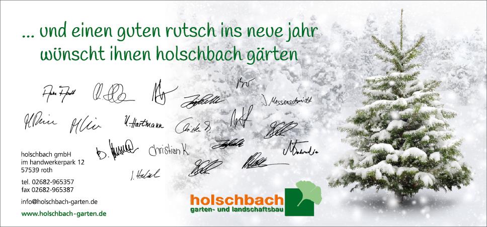 Weihnachtskarte Rückseite Flyer DIN lang