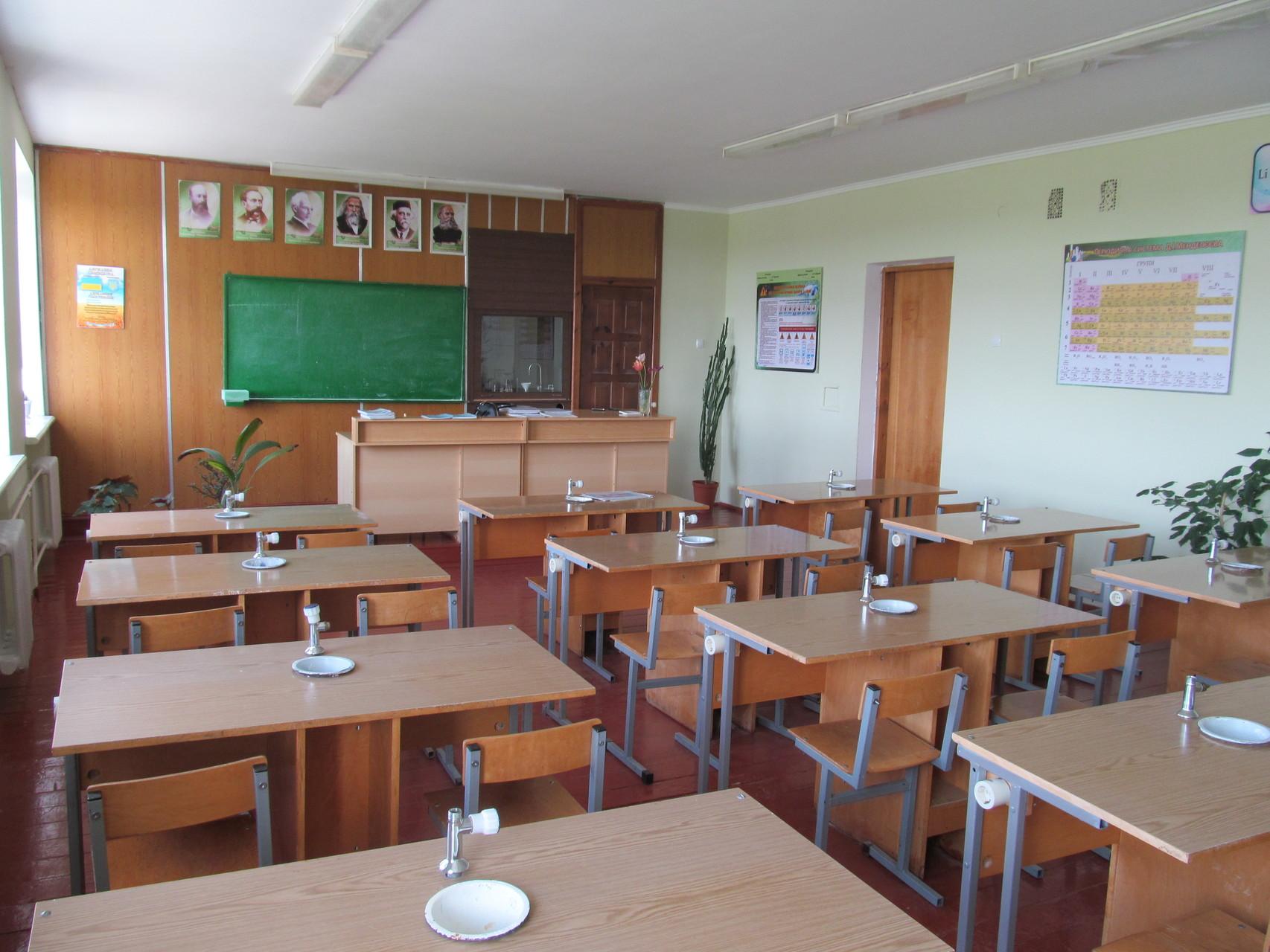Клас-кабінет хімії