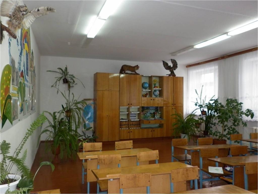 Клас-кабінет природознавства