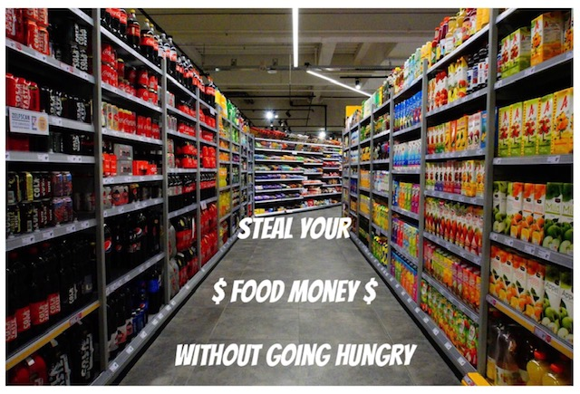 budgeting, steal your food money without going hungry, saving money, find money in your budget,