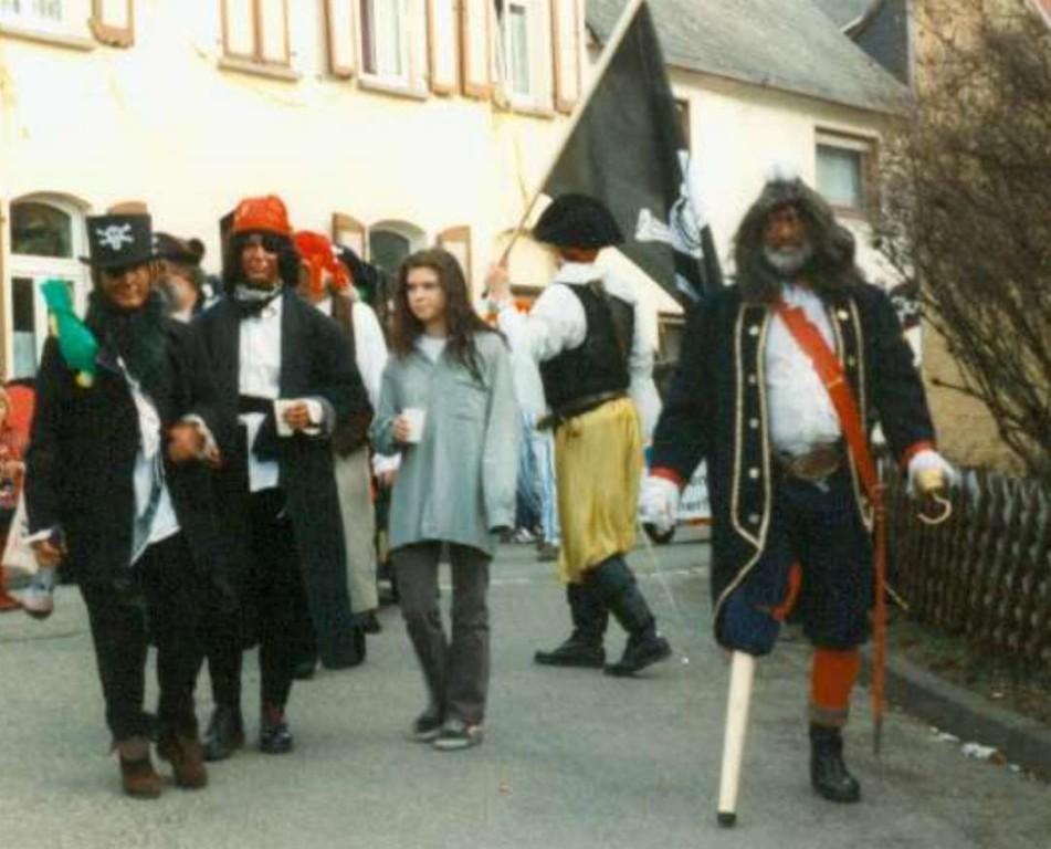 Karneval 1998 / De Rigges und seine Piraten