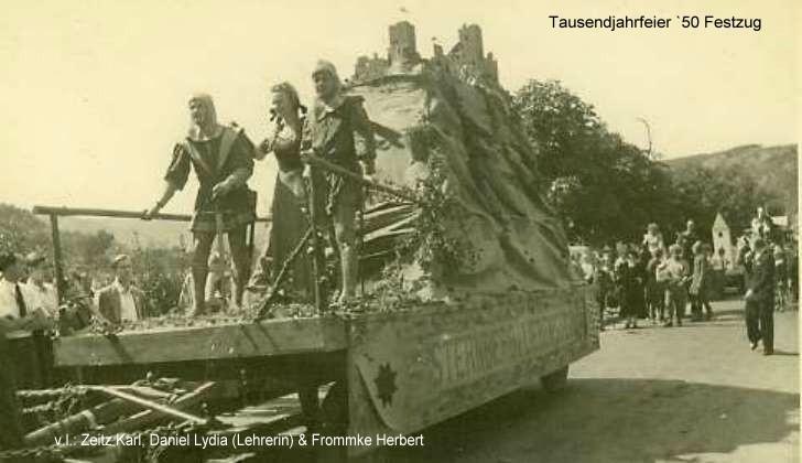 1950 Tausendjahrfeier / Festzug