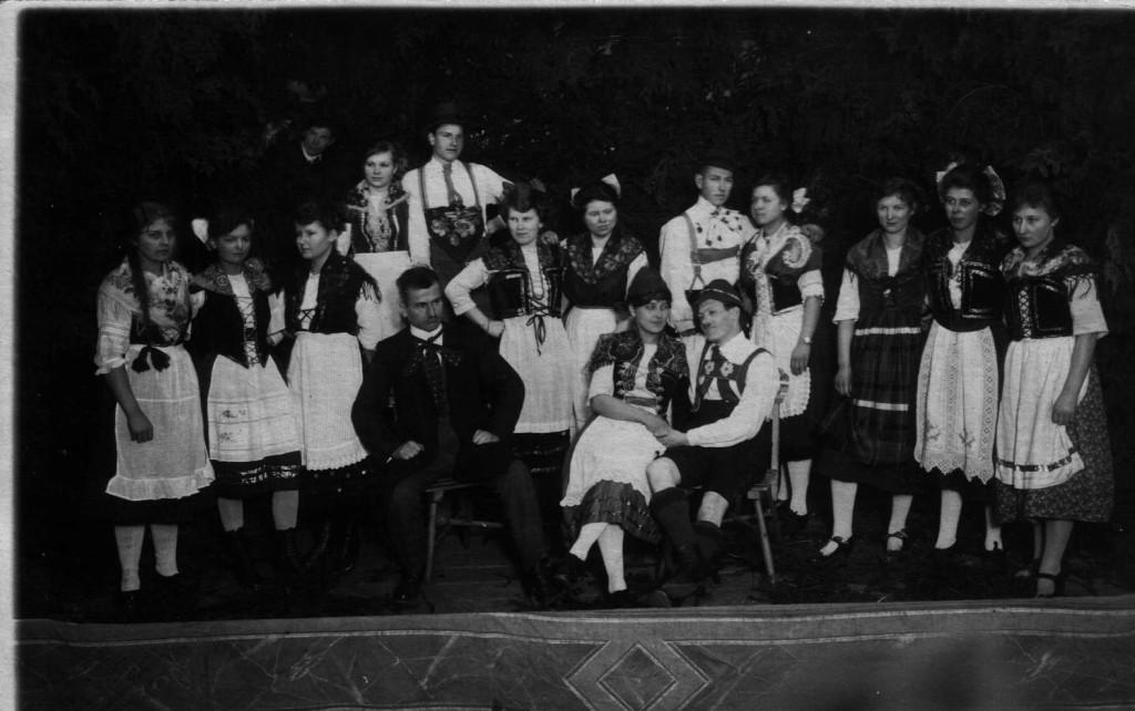1920 Theateraufführung Winzerliesel