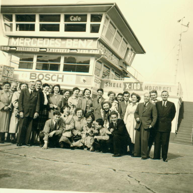 Kirchenchor 1952 Nürburgring