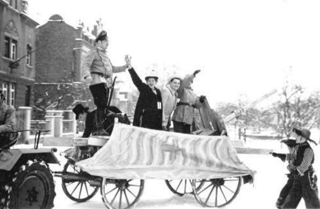Karneval 1954 / Parodie auf die Wieder-Aufrüstung