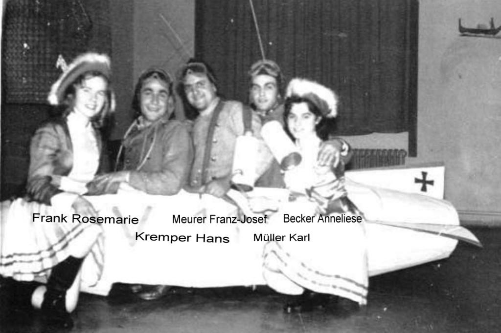 Karneval 1957  / Kirchenchor