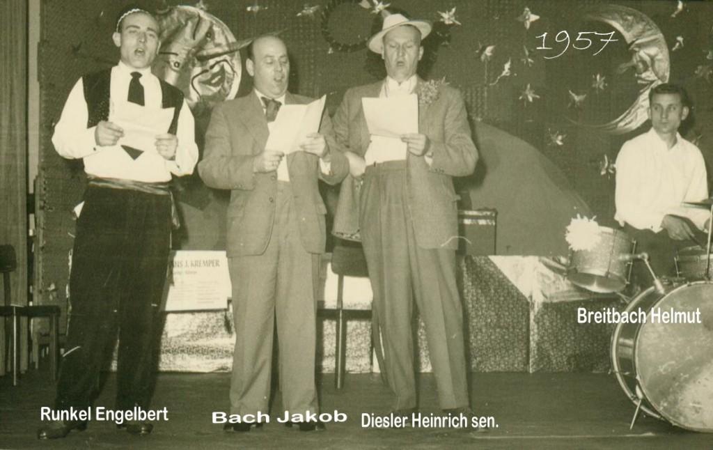 Kirchenchor 1957 Karneval