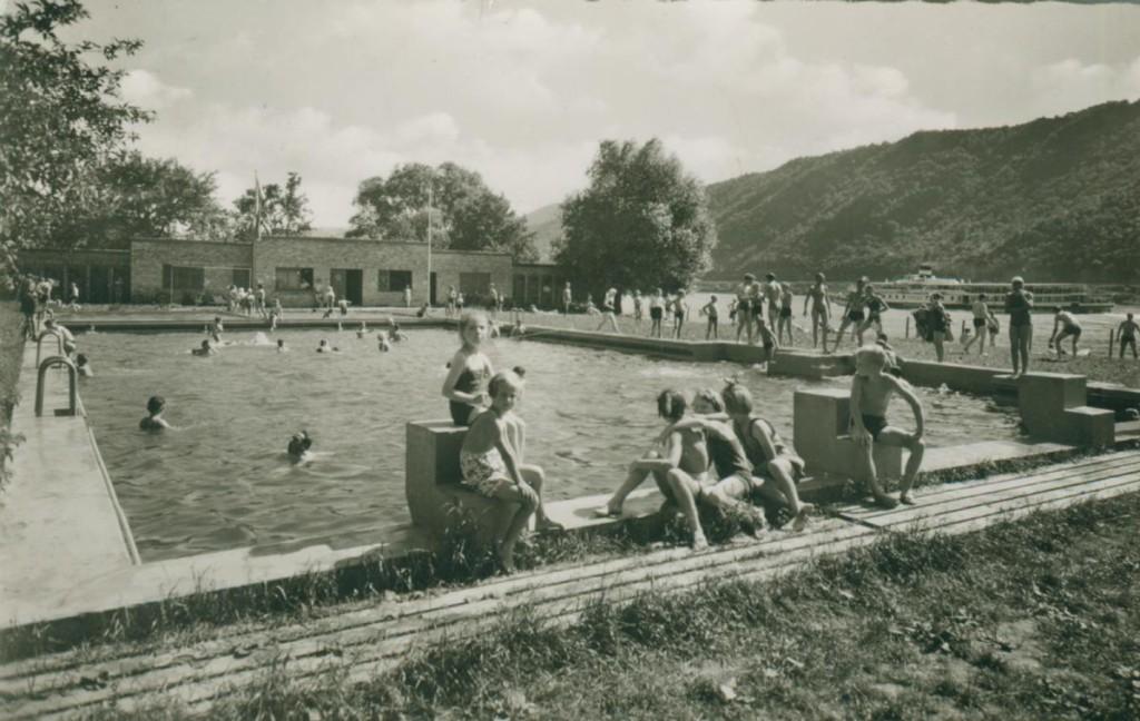 Schwimmbad 1953
