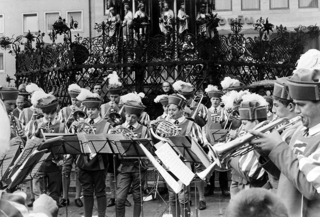 Kolpingkapelle , gegr.1966 / Auftritt in Nürnberg