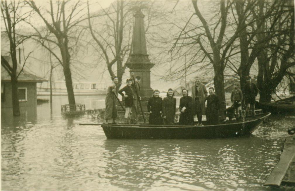 Hochwasser 1940 er Jahre