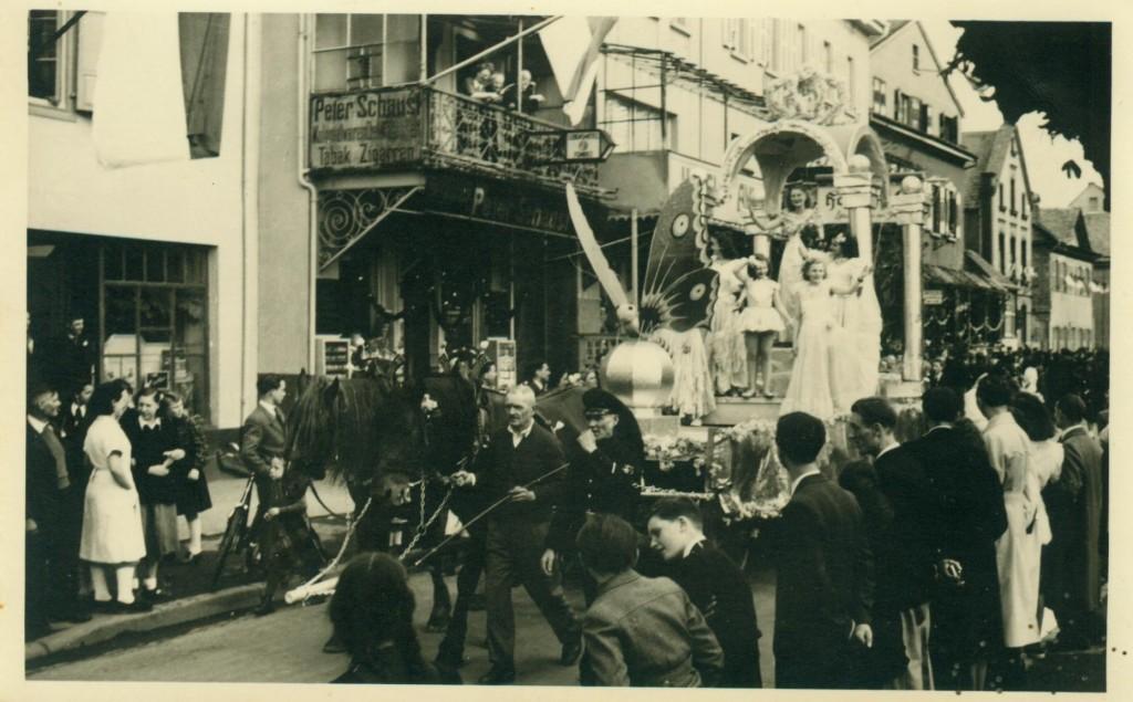 1950er Jahre/ Blütenfest