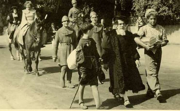 1950 Tausendjahrfeier/ Festzug
