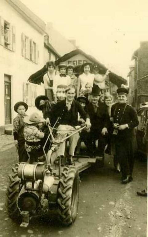 Karneval 1960/ Feuerwehr