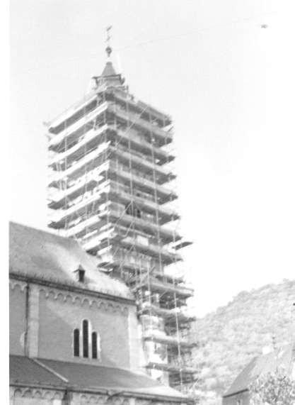 1971 Renovierung der Pfarrkirche