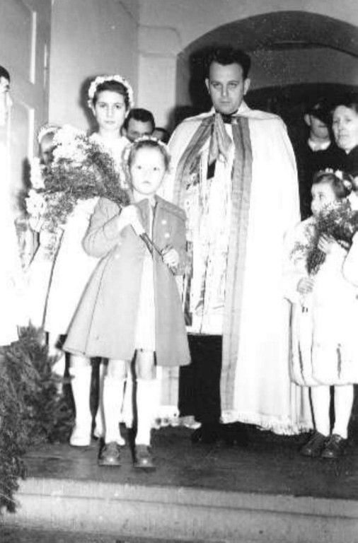 1958 Primiz Gustav Meurer (Pater Gottfried)
