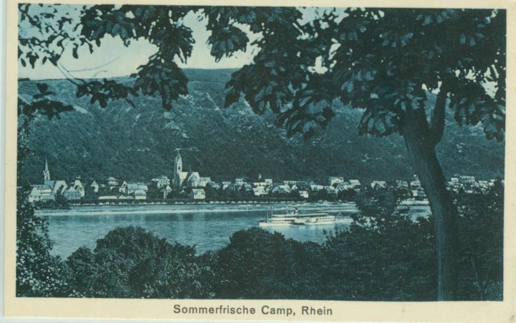 Camp, Anfang 20. Jahrhundert