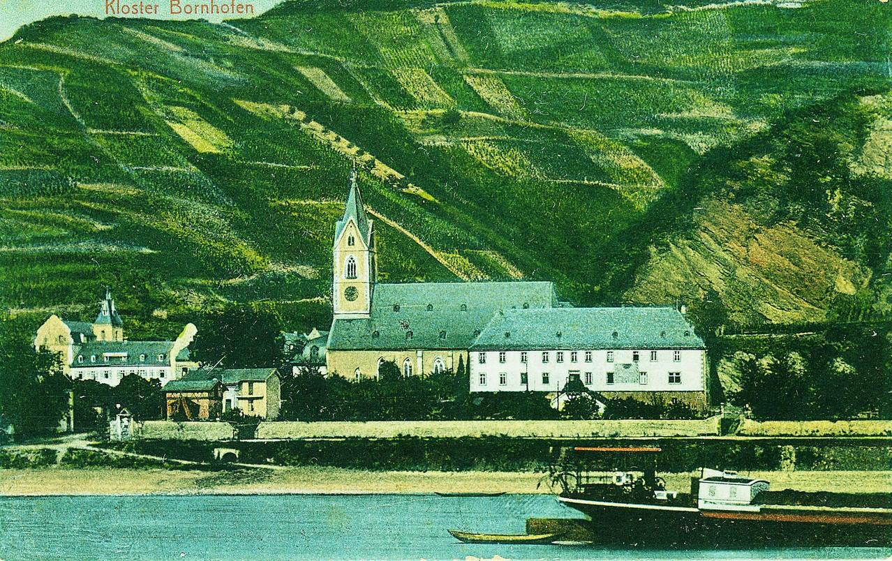 Bornhofen um 1900