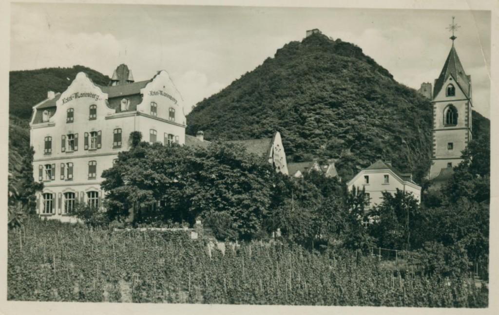 Etwa um 1900 Weinberge Familie Schauren