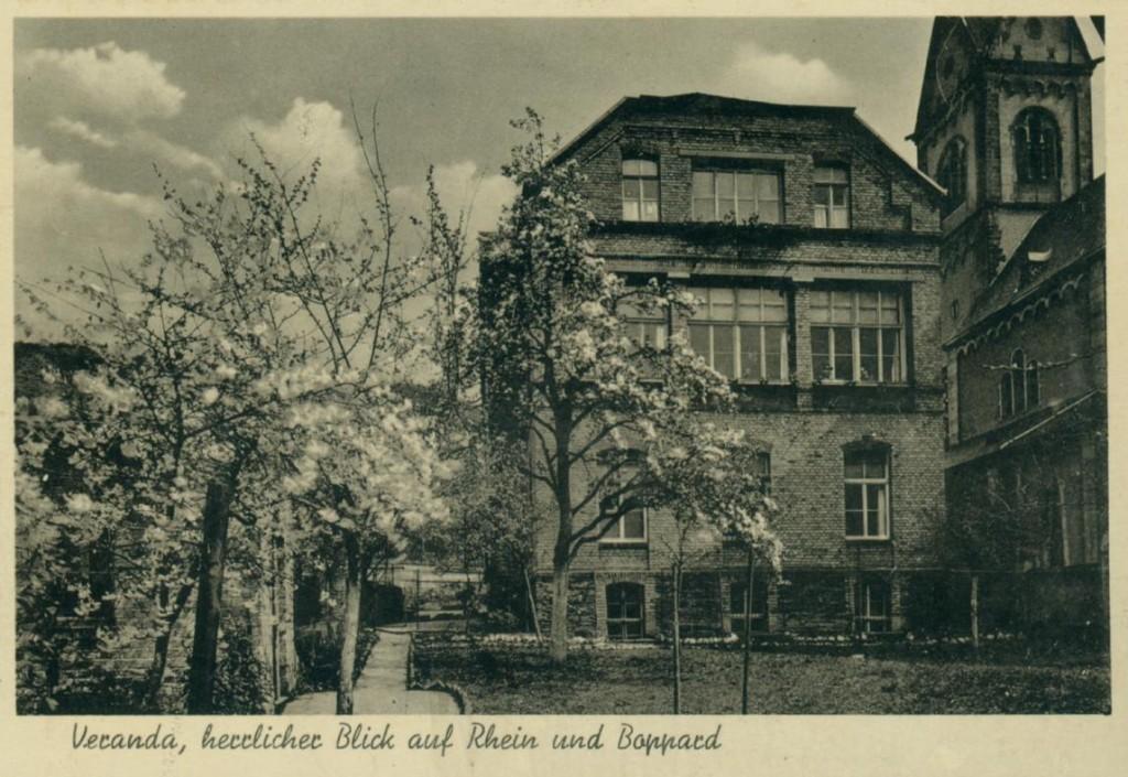 St.-Josefshaus / Schwesternhaus der armen Dienstmägde Jesus-Christus .Zeitweise Lazarett, Krankenhaus und Kindergarten
