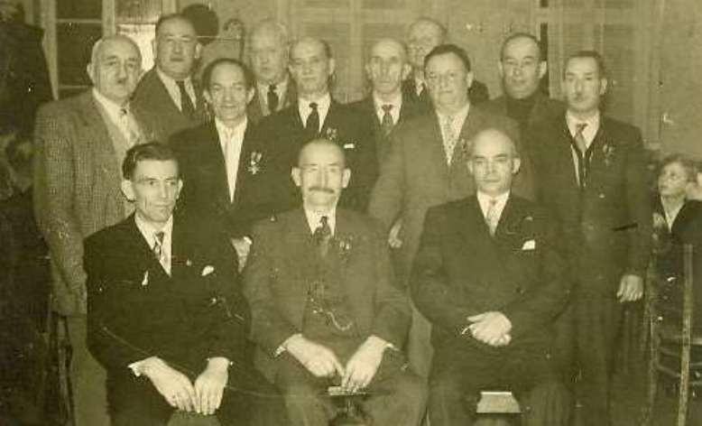 Feuerwehr 1956 Ehrenmitglieder