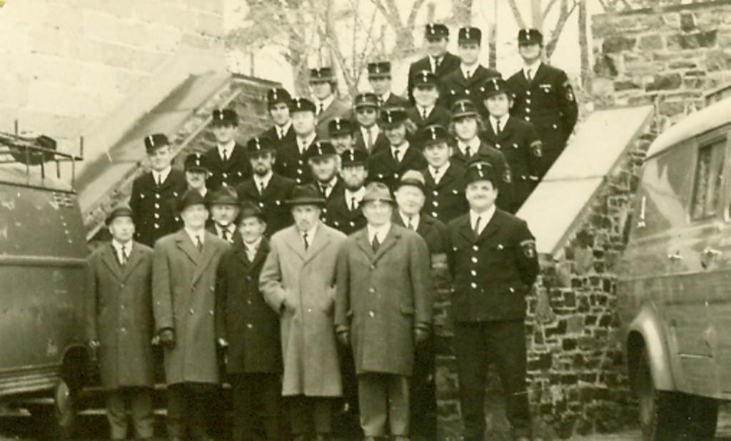 Feuerwehr 1971 Fünfundsiebzigjähriges Jubiläum