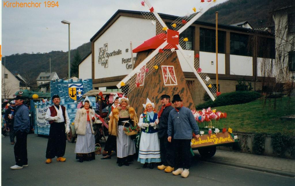 Karneval 1994/ Kirchencor
