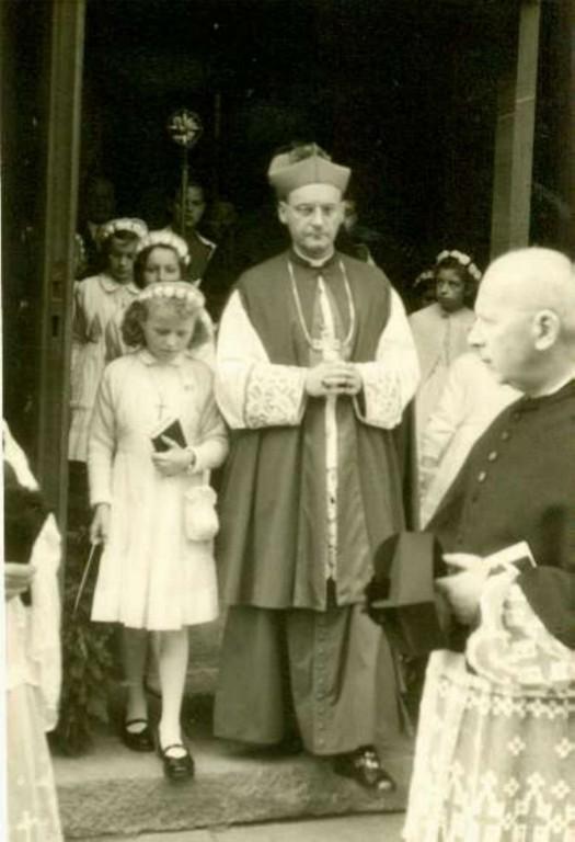 1960 Weihbischof W.Kampe (Firmung)