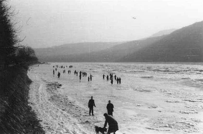 Eisgang 1954