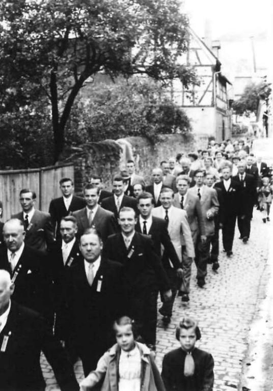 Liedertafel Jubiläum 1954