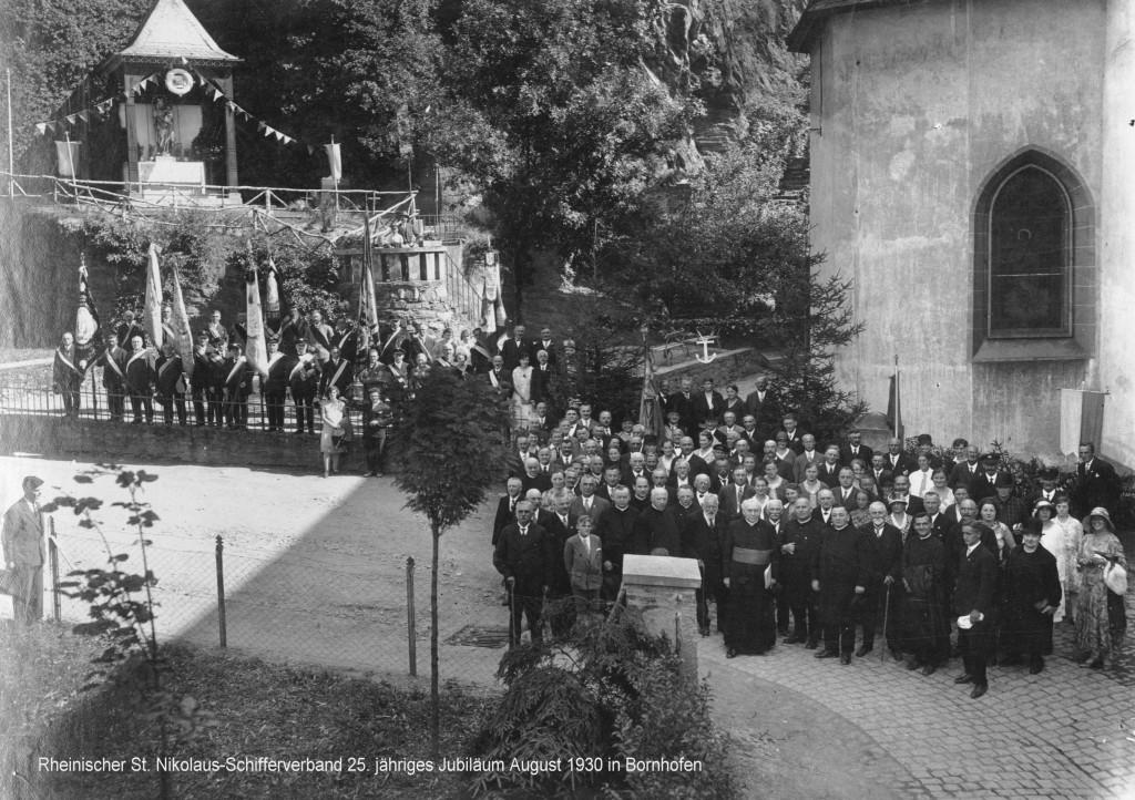 St. Nikolaus -Schifferverband 1931 in Bornhofen