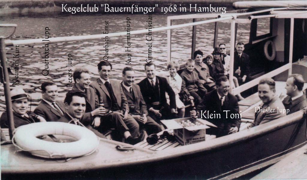 """Kegelclub """"Bauernfänger 1968"""