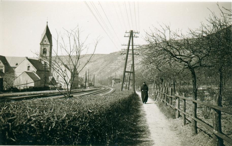 Gartenstraße um das Jahr 1930