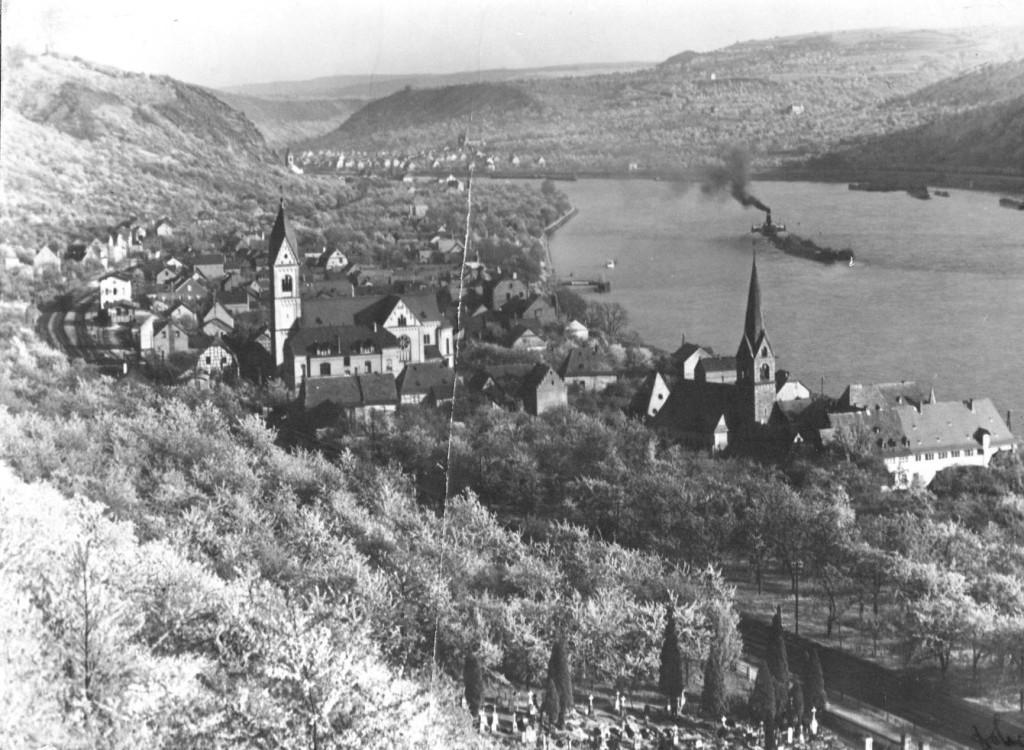Kirschblüte 1954
