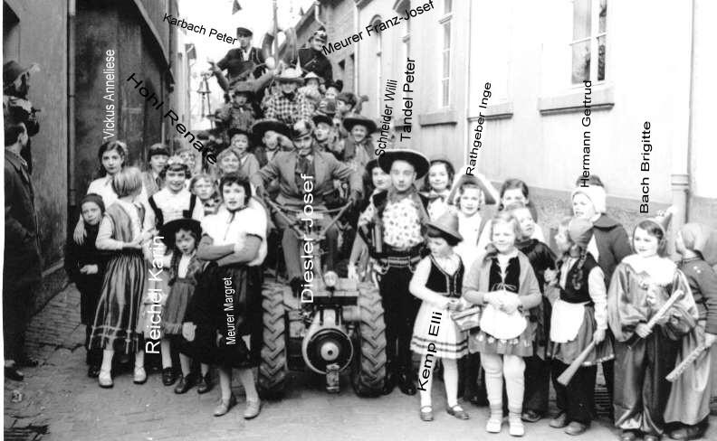 Karneval 1959/ Feuerwehr