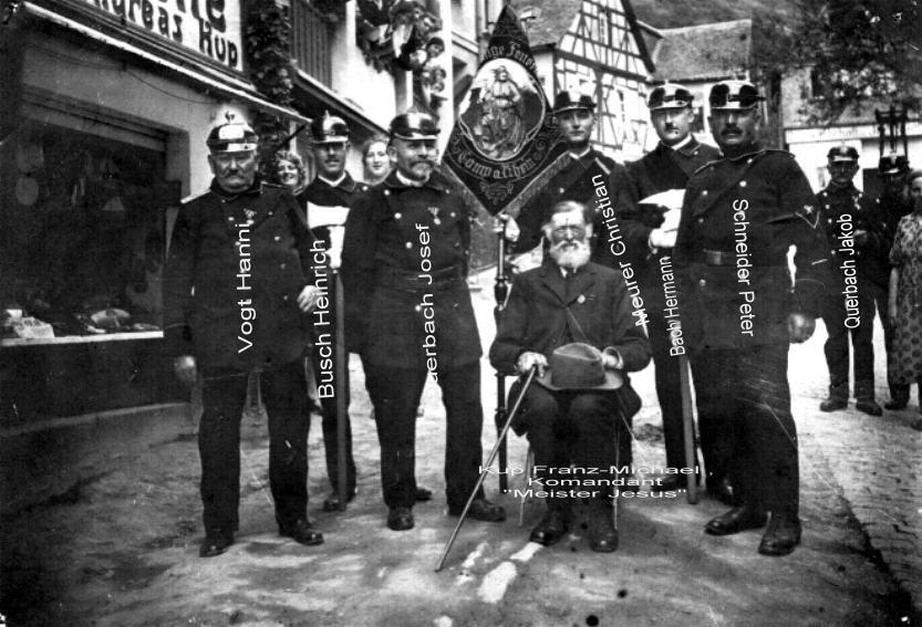 Feuerwehrveteranen 1926