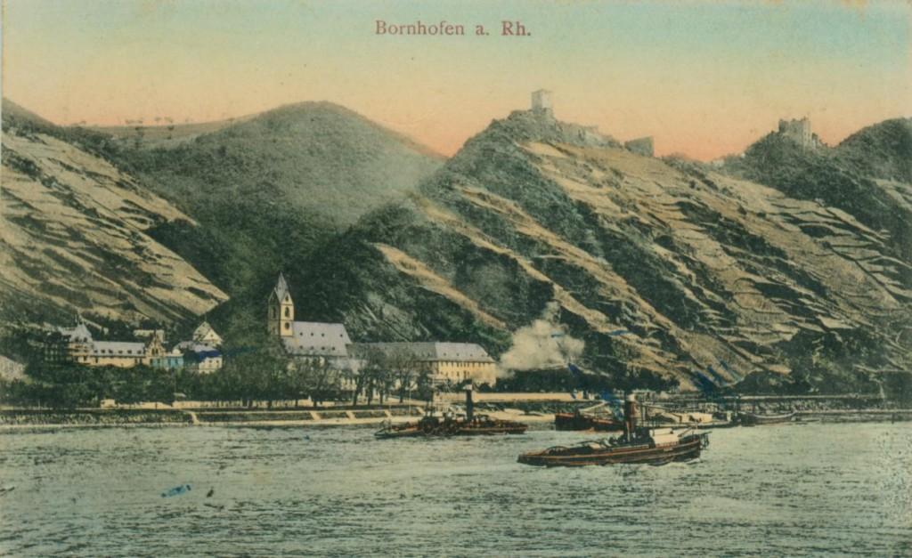 Bornhofenn Anfang 20. Jahrhundert