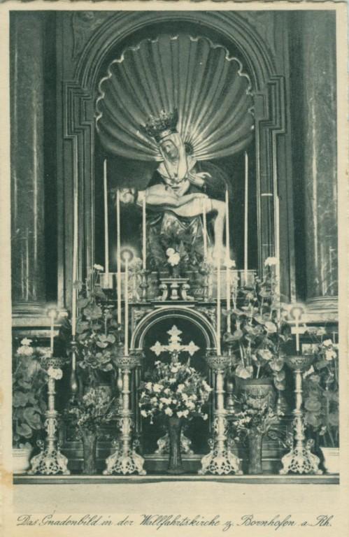 """Bornhofener Gnadenbild / Pieta in den """"Zwanziger Jahren"""""""