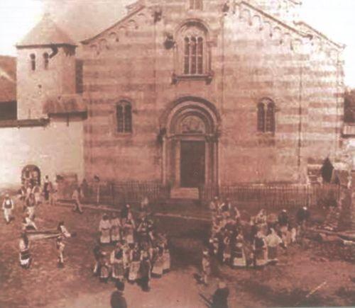 Manastiri i Deçanit me shqiptarë ordodoksë