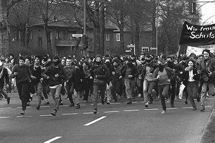 Demo für die Schulstr. 3 (1980er Jahre)