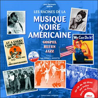 «Gospel, Blues, Jazz» vous raconte l'histoire de cette musique depuis les premiers bateaux en 1619, les premières écoles pour les enfants noirs, les premiers blues et les premiers morceaux de jazz jusqu'au swing des années 40.