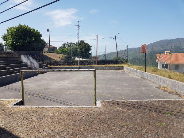 Football field Soajo Portugal