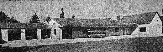 Der neue Anbau im Jahre 1978