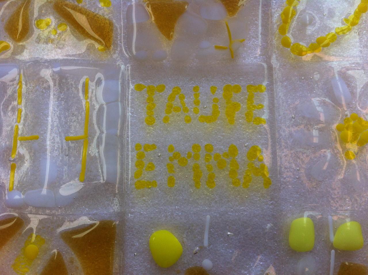 Täufling heißt Emma