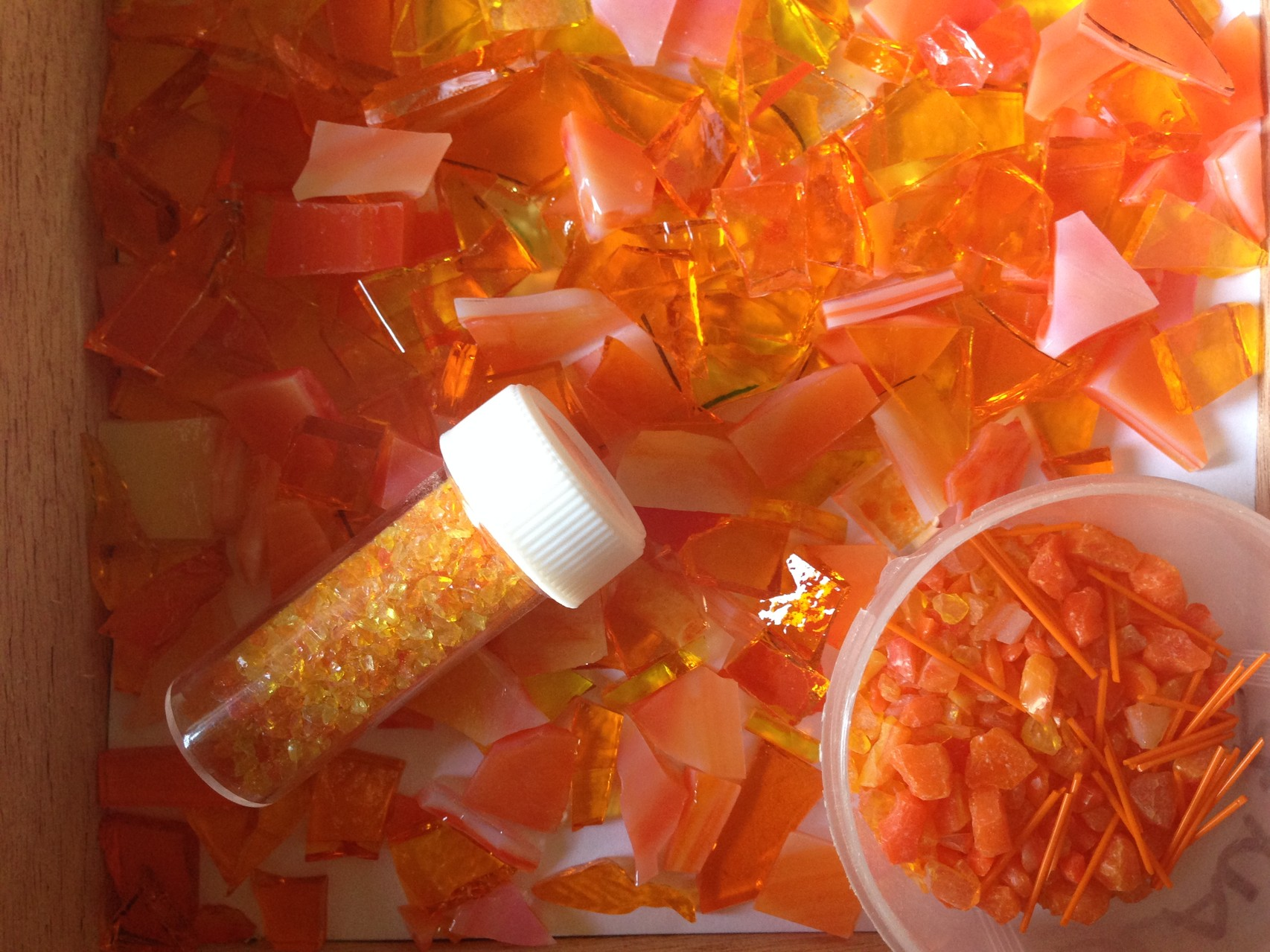 fusingglass orange