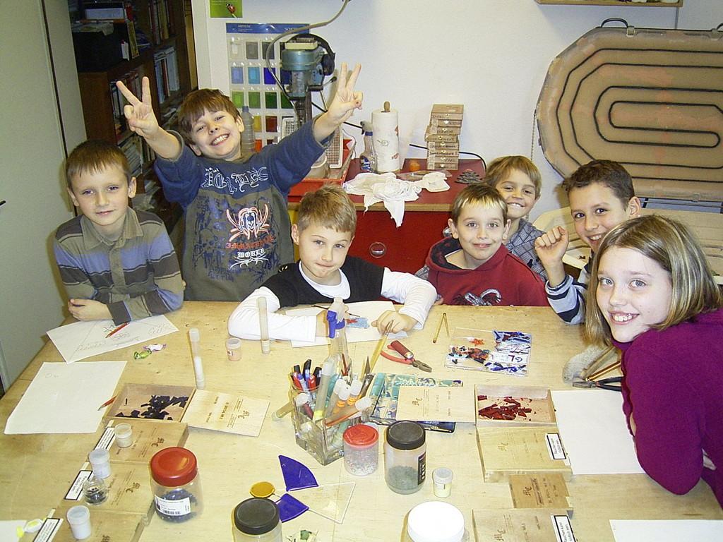 Auch 9-jährige Jungs haben bei einem Kindergeburtstag bei uns sichtlich Spaß :o)