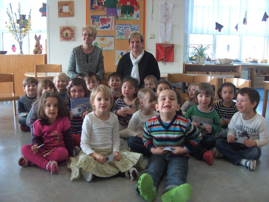 Lesung im KIGA der Kinderfreunde Wien, 2.3.2012