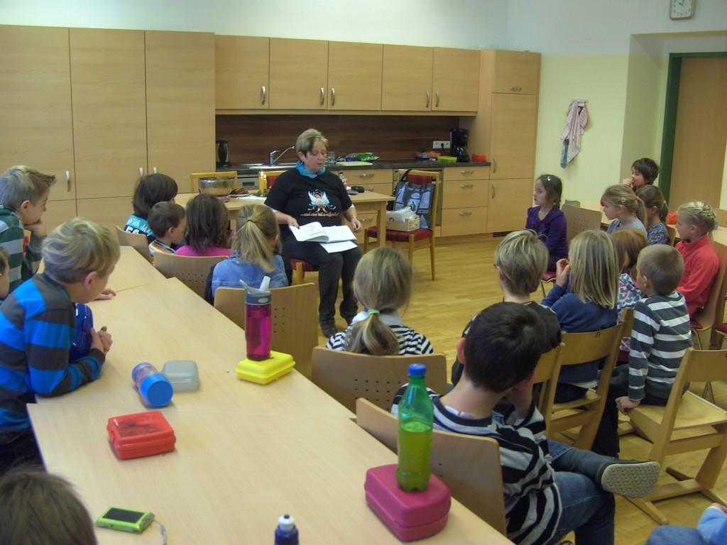 Lesung VS Kleinreifling am Dienstag, 13.12.2011