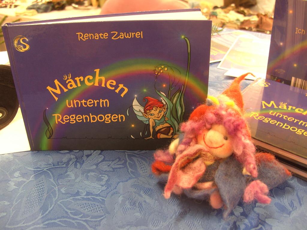 Märchenbuch und Koboldine