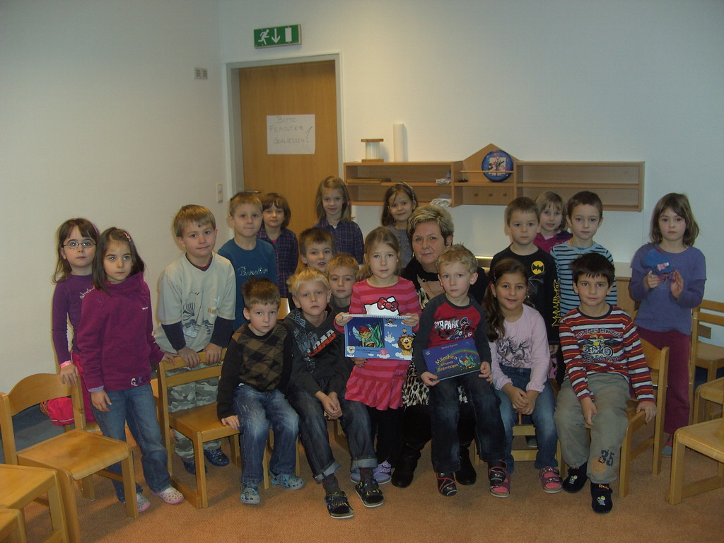 Lesung Kindergarten Weyer, 23.1.2012