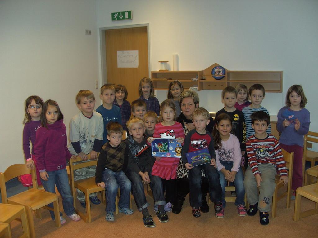 Lesung Kindergarten Weyer, 23.1.2012